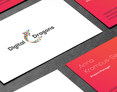 Digital Dragons - rebranding