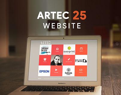 ARTEC 25 Website