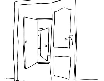 Ilustración / Puertas