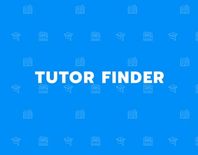 Tutor Finder | UI Design