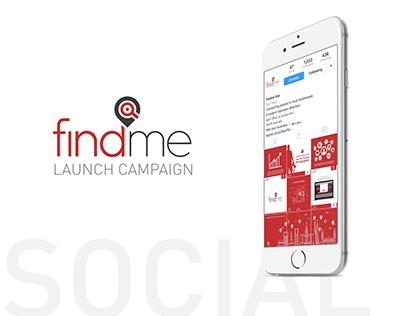 findmeksa - Social Media Launch Campaign