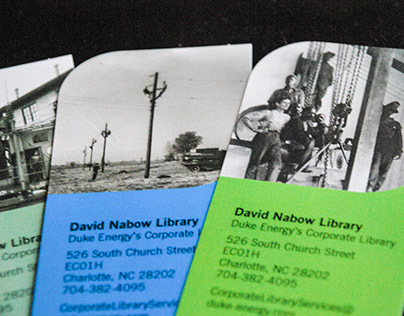 David Nabow Library bookmark