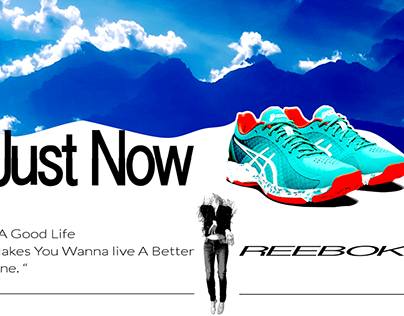 "REEBOK / ""JUST NOW !"""