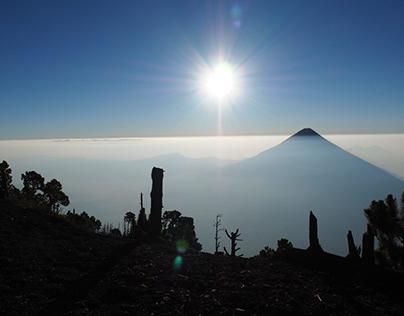 A breathtaking scenery from Acatenango ☁️⛰️📸