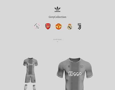 Adidas Grey Collection - Ajax, Arsenal, MU, Real, Juve