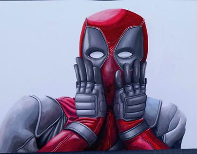 Deadpool Speed Drawing