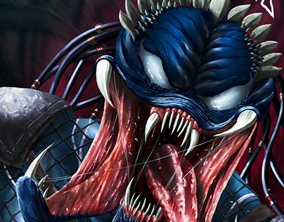 The Predator vs. Venom Venomized