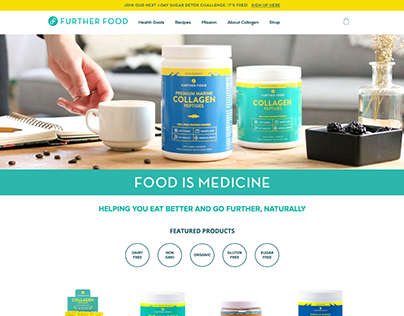 Further Food - Wordpress