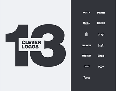13 Clever Logos
