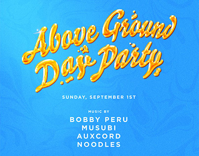 Above Ground: Day Party