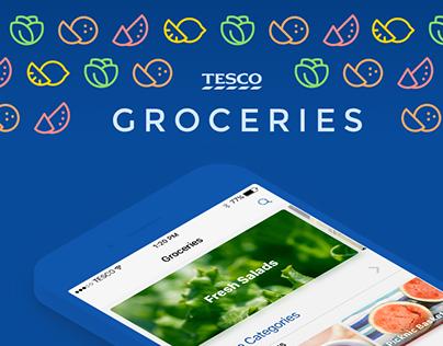 Tesco Groceries - Service Design Concept