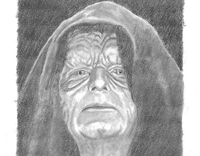 Empereur Palpatine de la saga Star Wars