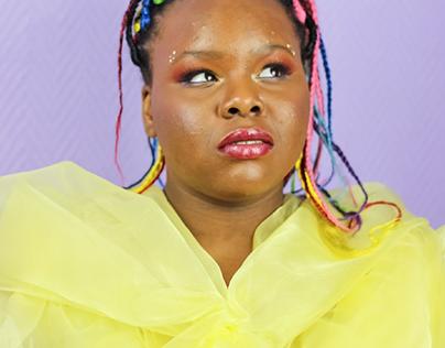 Portrait colored