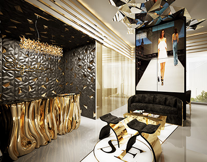 Fashion design studio recption & Meeting room