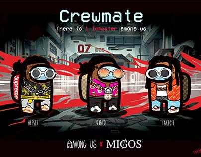 Among Us Cremate: Migos