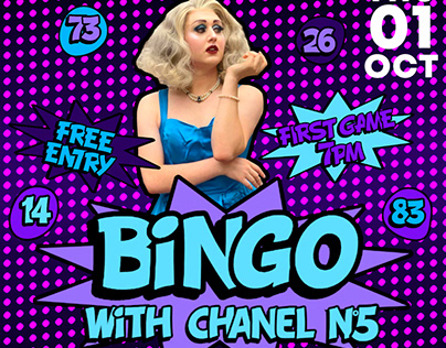 Bingo with Chanel Nº5 @ Dalston Superstore