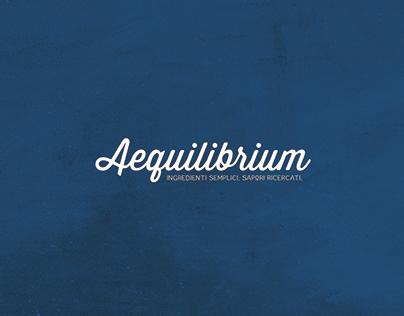 Aequilibrium - Brand Concept