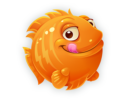 funny fish for game