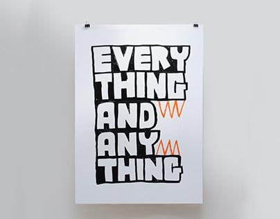 Everything and Anything - Ilustração