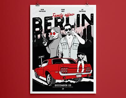 BERLIN   One piece poster
