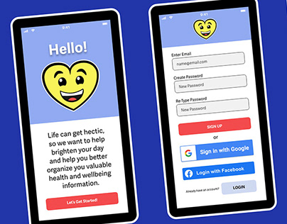 Health & Wellness App UX Case Study