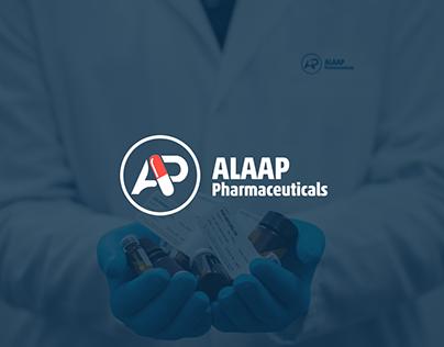 Alaap Pharmaceutical branding