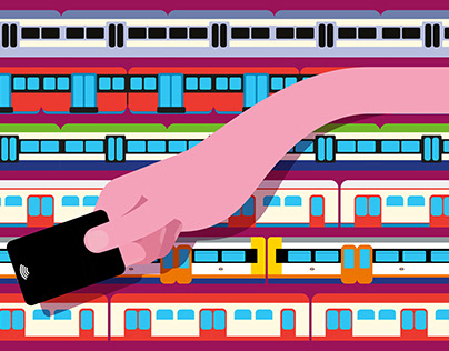 Transport for London - Illustration & Advertising