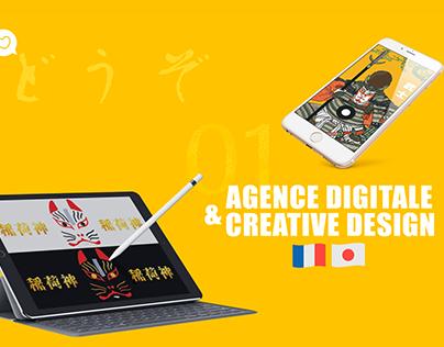 "HIRAMEKI 志 - ""Digital Agency & Creative Design"" 2019"