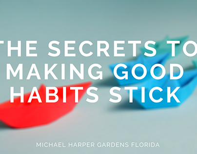 The Secrets to Making Good Habits Stick