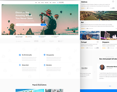 Travel Agency - Web Design