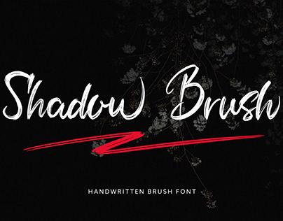 Shadow Brush Script Font