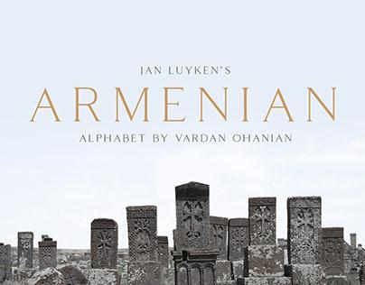 Armenian Alphabet Characters/Font