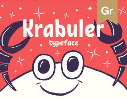 Krabuler | free typeface
