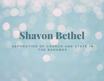 Separation of Church and State in the Bahamas