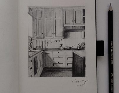 Kitchen - illustration