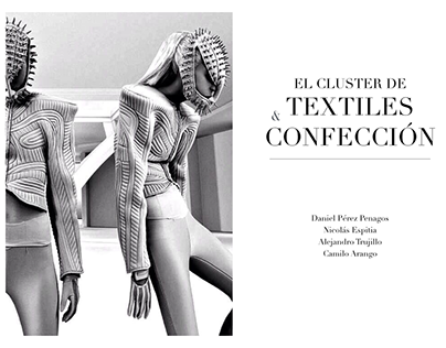 Investigación sobre el Cluster de Textil Colombiano
