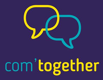 Com'Together : logo affiche et site
