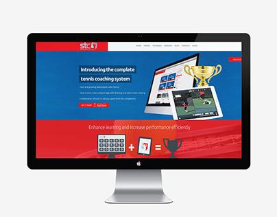 Sports Tech Coaching ~ Website design