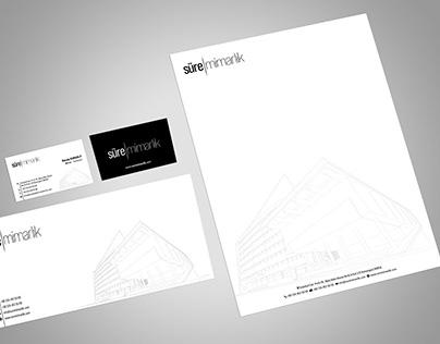 Süre Mimarlık Logo ve Kurumsal Kimlik