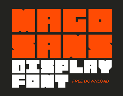 Mago Sans - Free Display Font