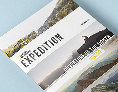 National Geographic: Newsletter Design