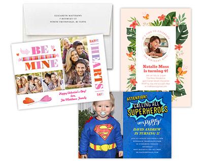 Photo Cards / Invitations
