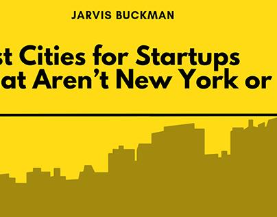 Jarvis Buckman | Best Cities for Startups