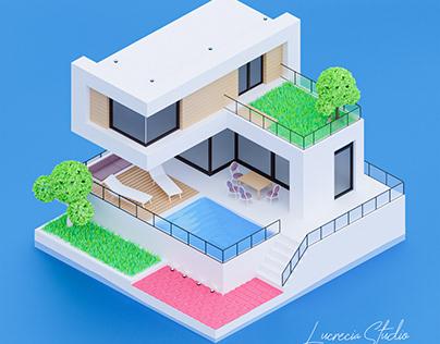 Luxury House Daylight