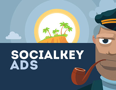 Marketing video for Socialkey ADS