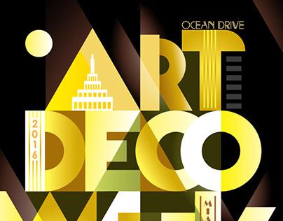 ArtDeco Weekend | Poster | Branding