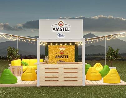 Amstel summer bar