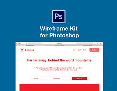 Photoshop Wireframe Kit