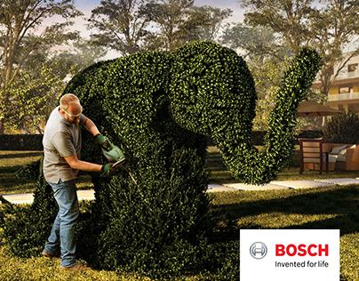 "BOSCH ""Home and Garden"" key visuals"