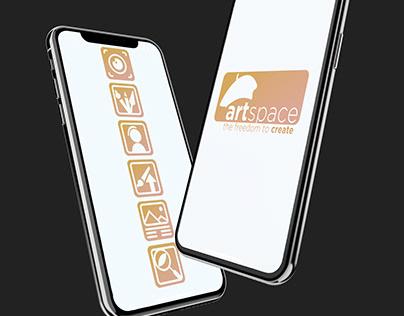 ArtSpace App Mockup